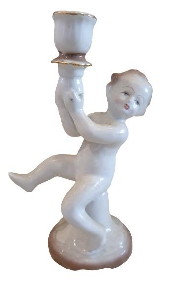 Tempat Lilin Porcelain ex Romania