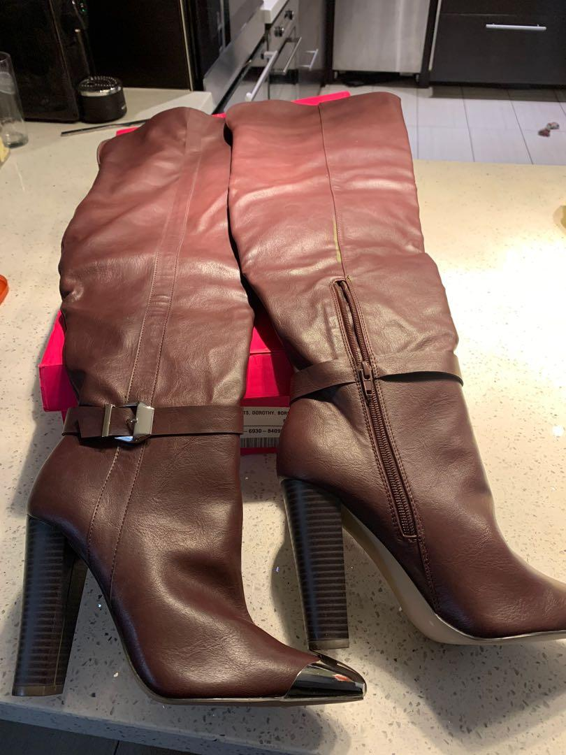 Thigh high boots size9