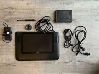 """Wacom Cintiq 12WC LCD Tablet Pen Display - Model Dtz-1200W/G 12"""""""