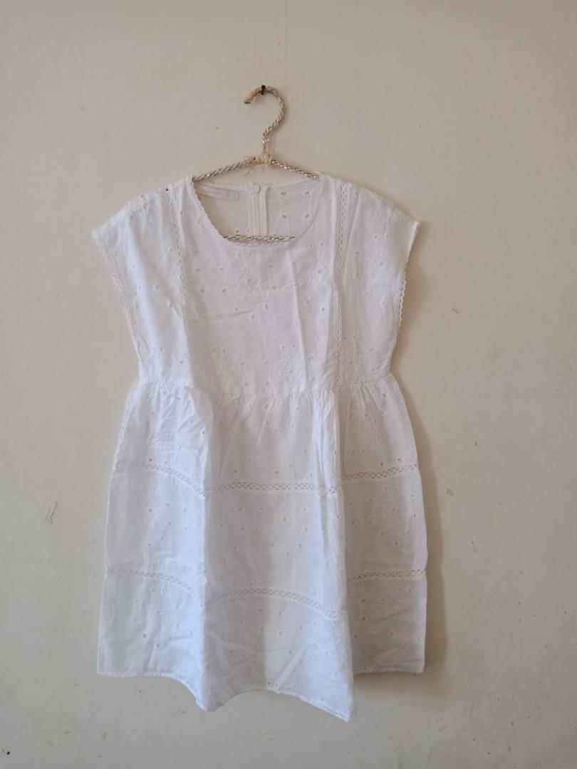 White Jumpsuit zara