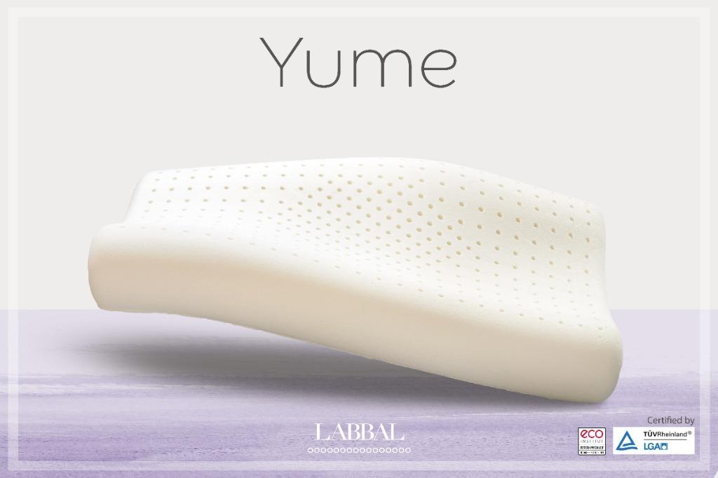 Yume 100% Natural Latex Pillow / Latex pillow (Ready Stock), Home &  Furniture, Others on Carousell