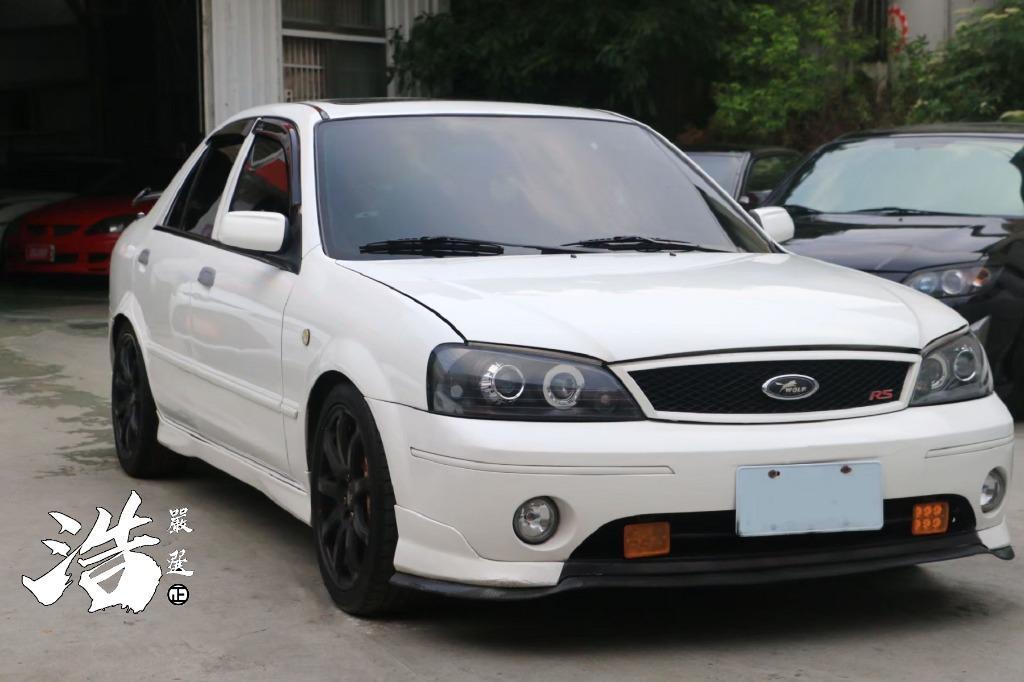2003年 福特 TIERRA RS白 大尾翼 💥買車覺得困難嗎❗️管你什麼條件💥通通過件💥雙證件即可辦理