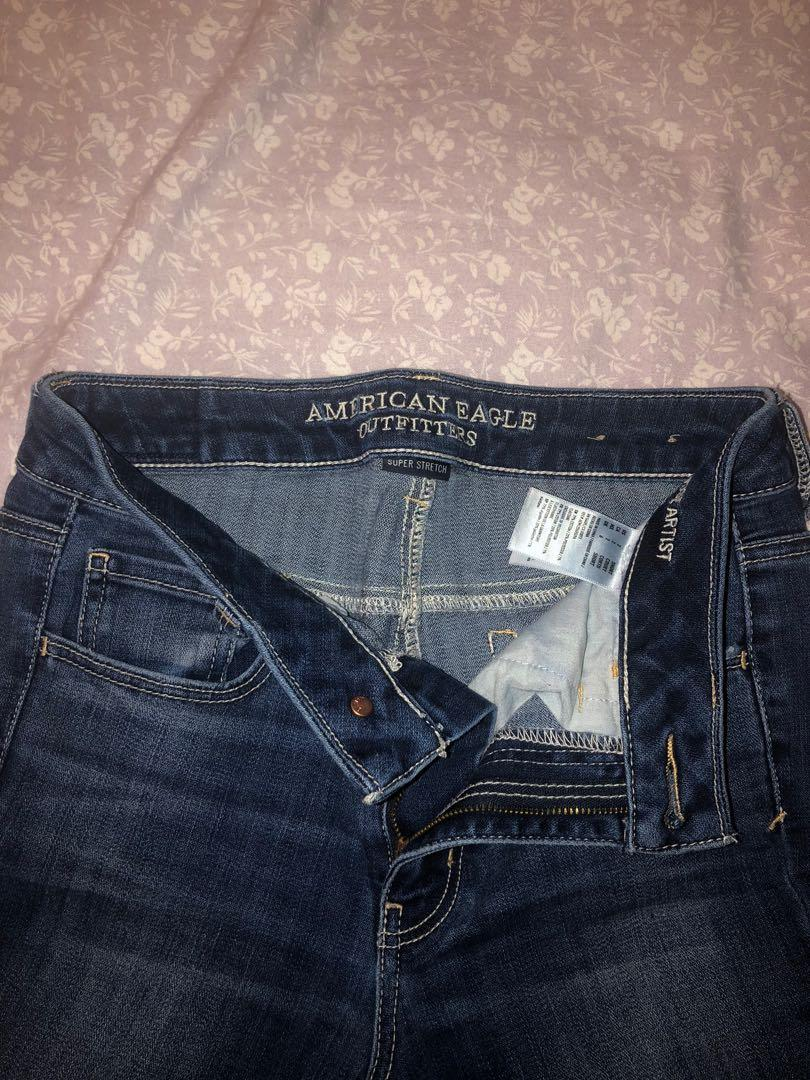 AMERICAN EAGLE wide legged jeans