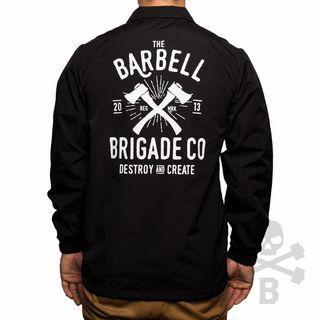 BARBELL BRIGADE COACH JACKET