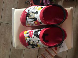 Authentic Crocs Mickey Mouse