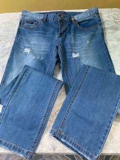 Dolce & Gabbana Botton Fly Classic Jeans