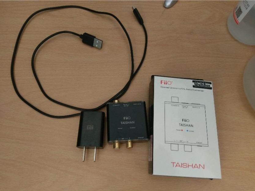 FiiO D03K 數位類比音源轉換器 同軸 光纖轉RCA/3.5mm (PS4 光纖轉類比)