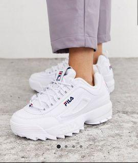 fila disruptor 2 white | Shoes