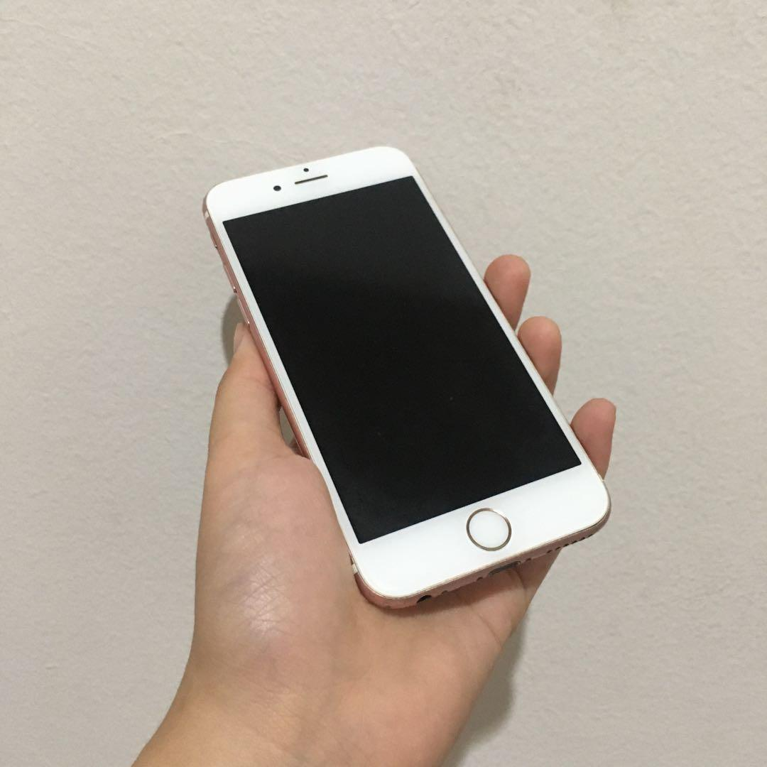iPhone 6s Rose Gold 64Gb [Bisa Nego]