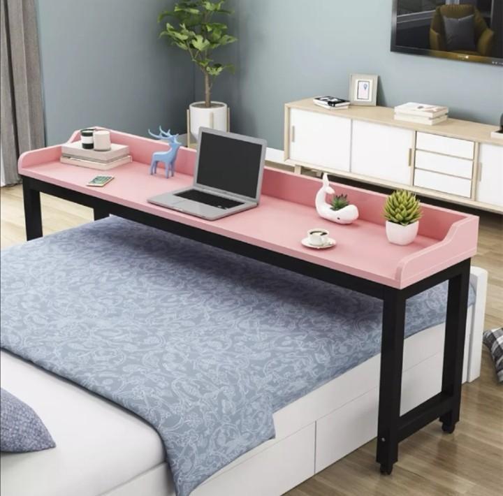 L180 X 40 H80 Cm Queen Bed Desk, Queen Bed And Desk