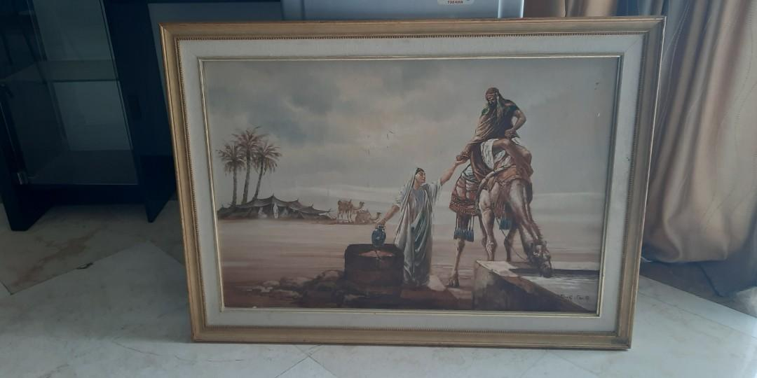 Lukisan dengan tema Middle East