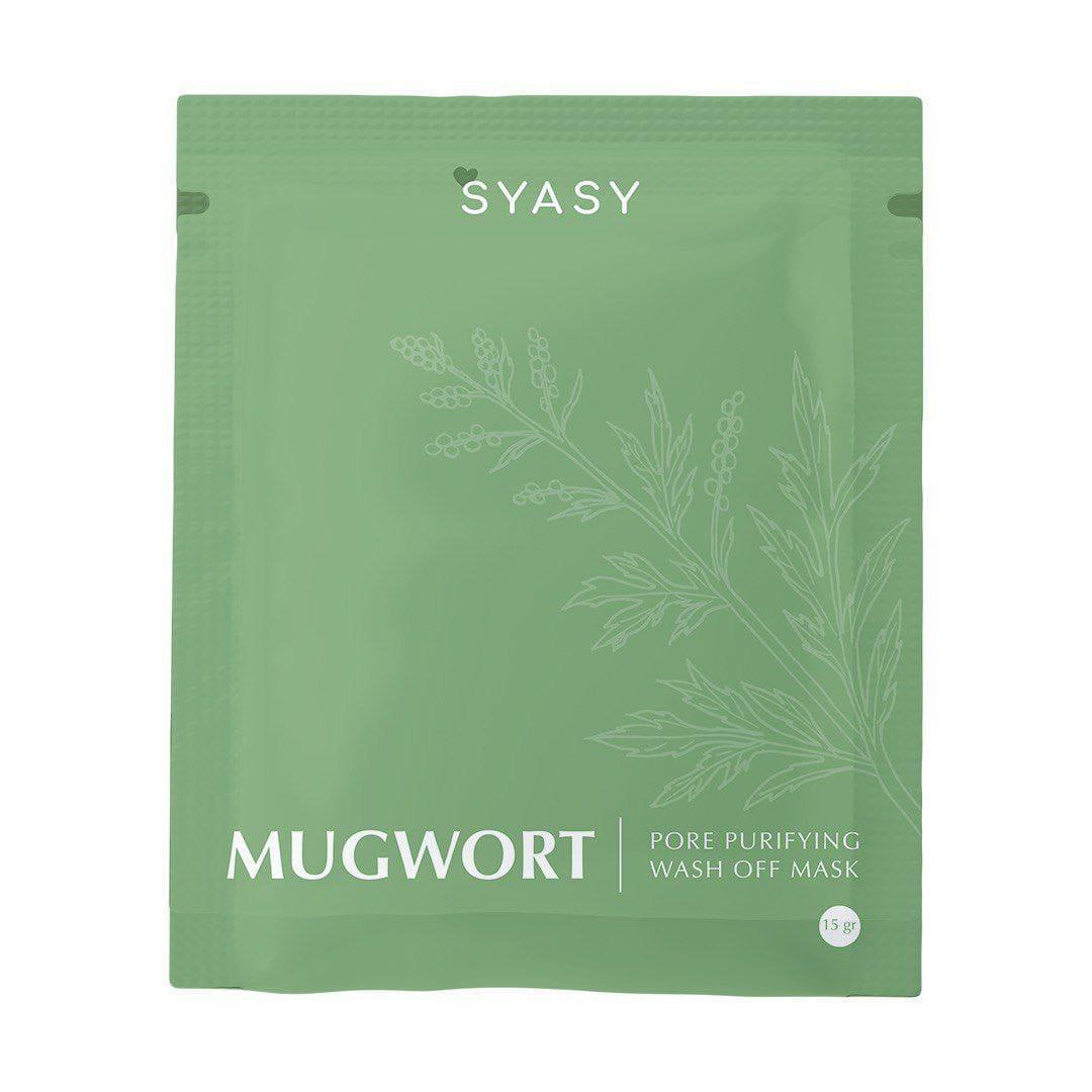 Mugwort syasy claymask powder/ peel of mask