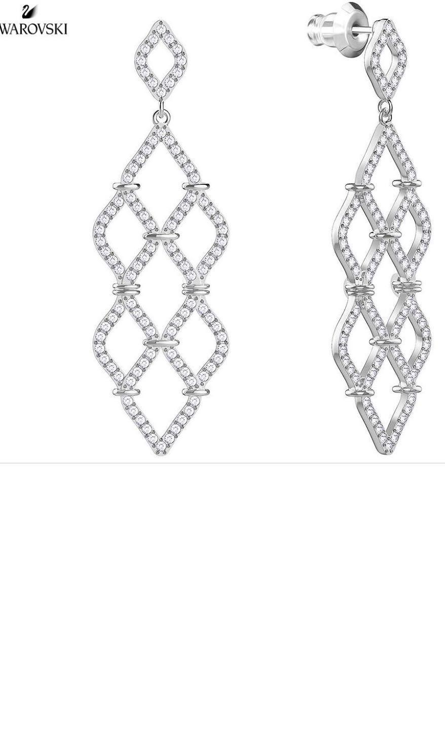 New authentic Swarovski crystal chandelier earrings