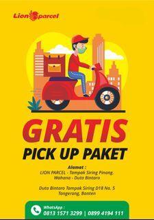 Pickup Paket Lion Parcel Area Kunciran Paku Jaya