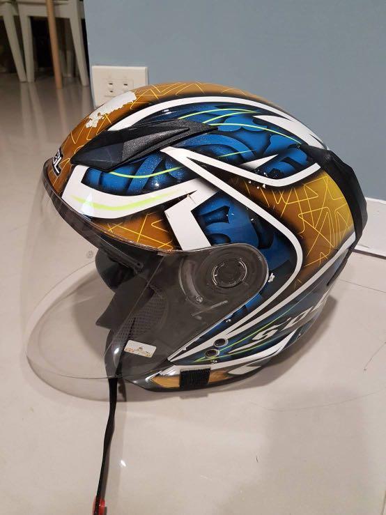 SOL安全帽   SO-7.   尺寸60~62cm