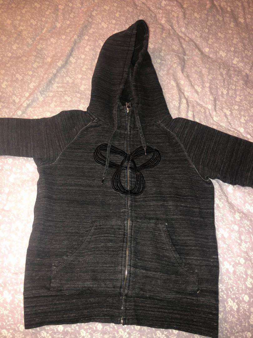 TNA zip up sweater