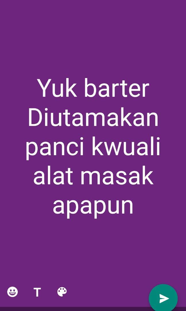 #Yukbarter