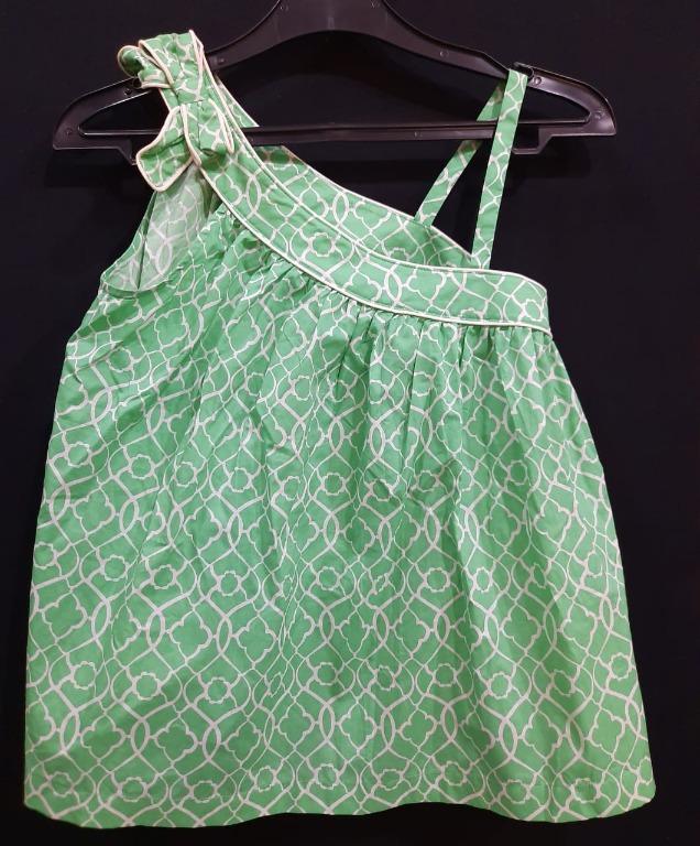 Baju hijau 1 tali