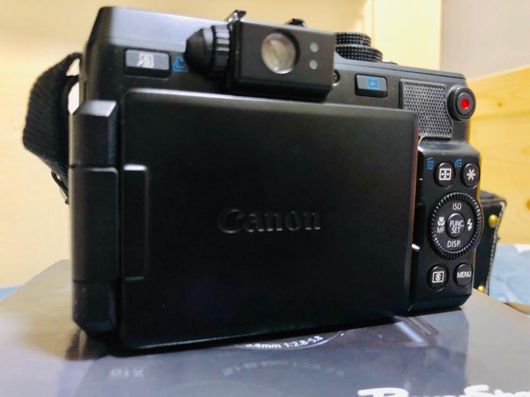Canon power shot G1X類單眼翻轉螢幕相機