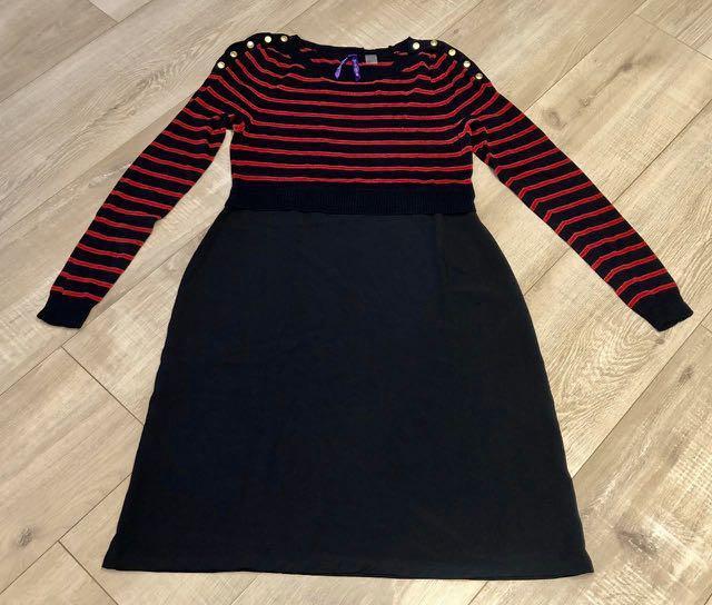 Casual striped dress