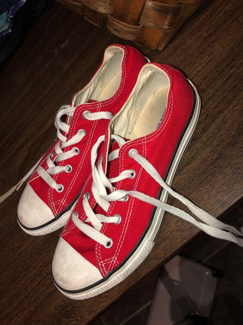 CONVERSE red youth
