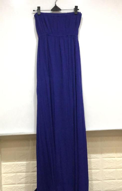 Dress Fashion wanita Biru tua
