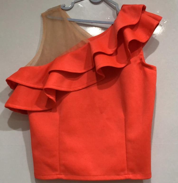 Fashion wanita warna orange
