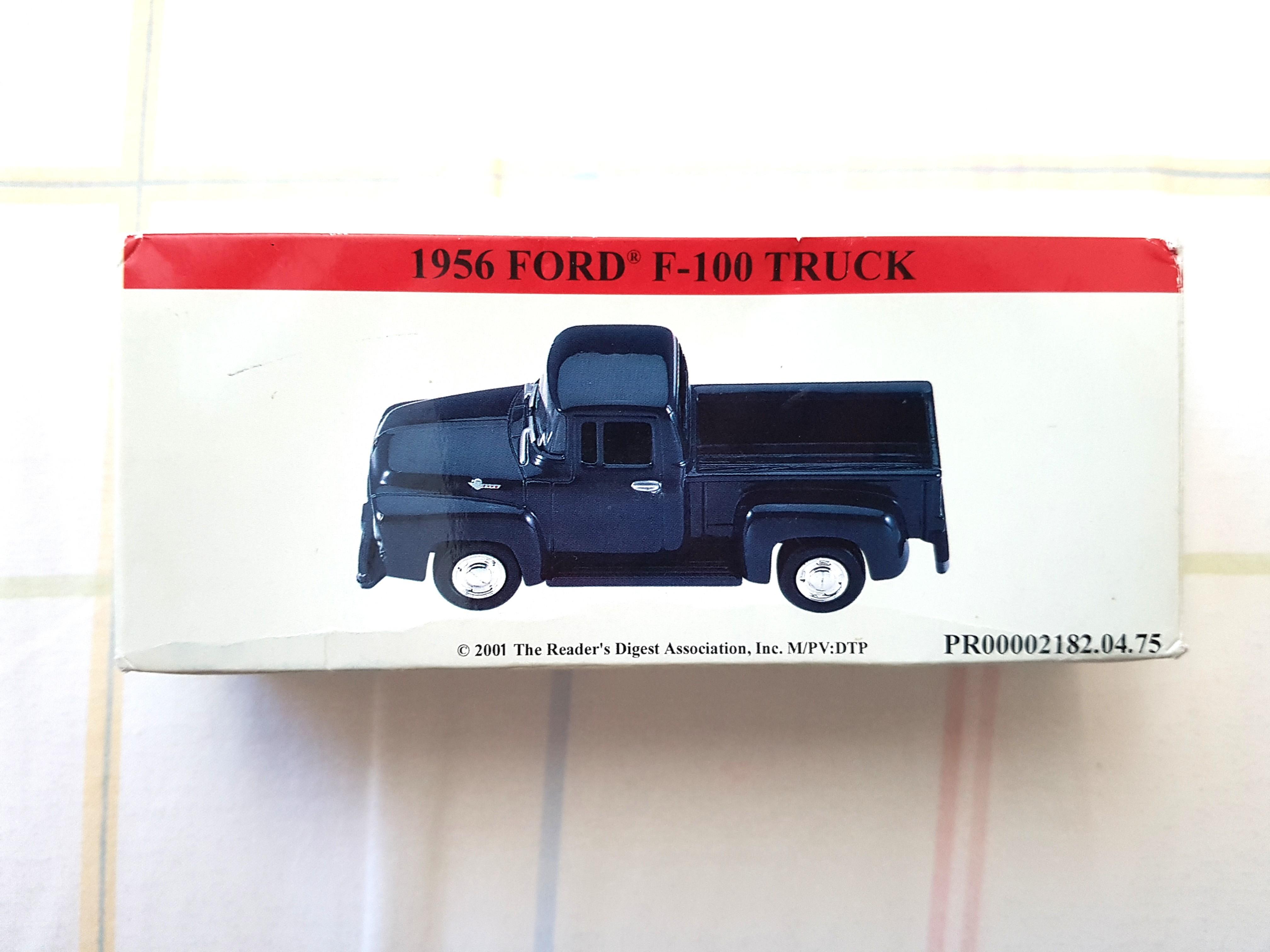 Ford 1956 F-100 model truck, vintage