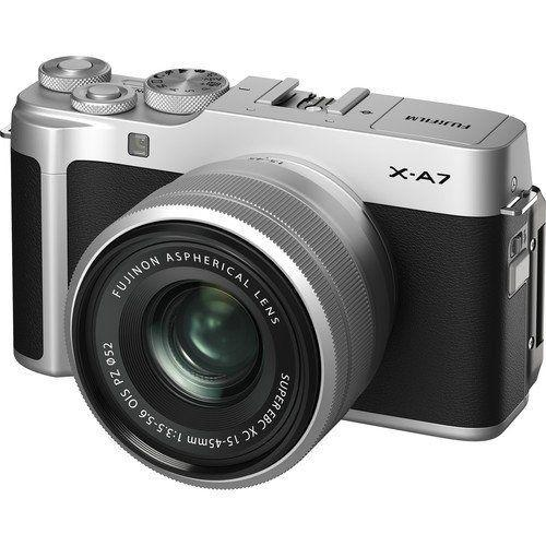 FUJIFILM X-A7 Mirrorless Digital with 15-45mm Lens Kredit Cepat