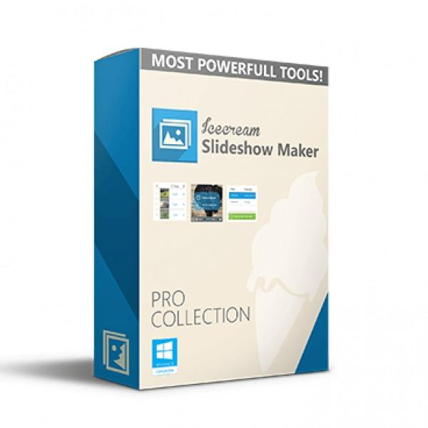 Icecream Slideshow Maker 3 Pro - Aplikasi Pengubah Gambar Menjadi Video Slideshow - Windows Ice Cream Slideshow Maker