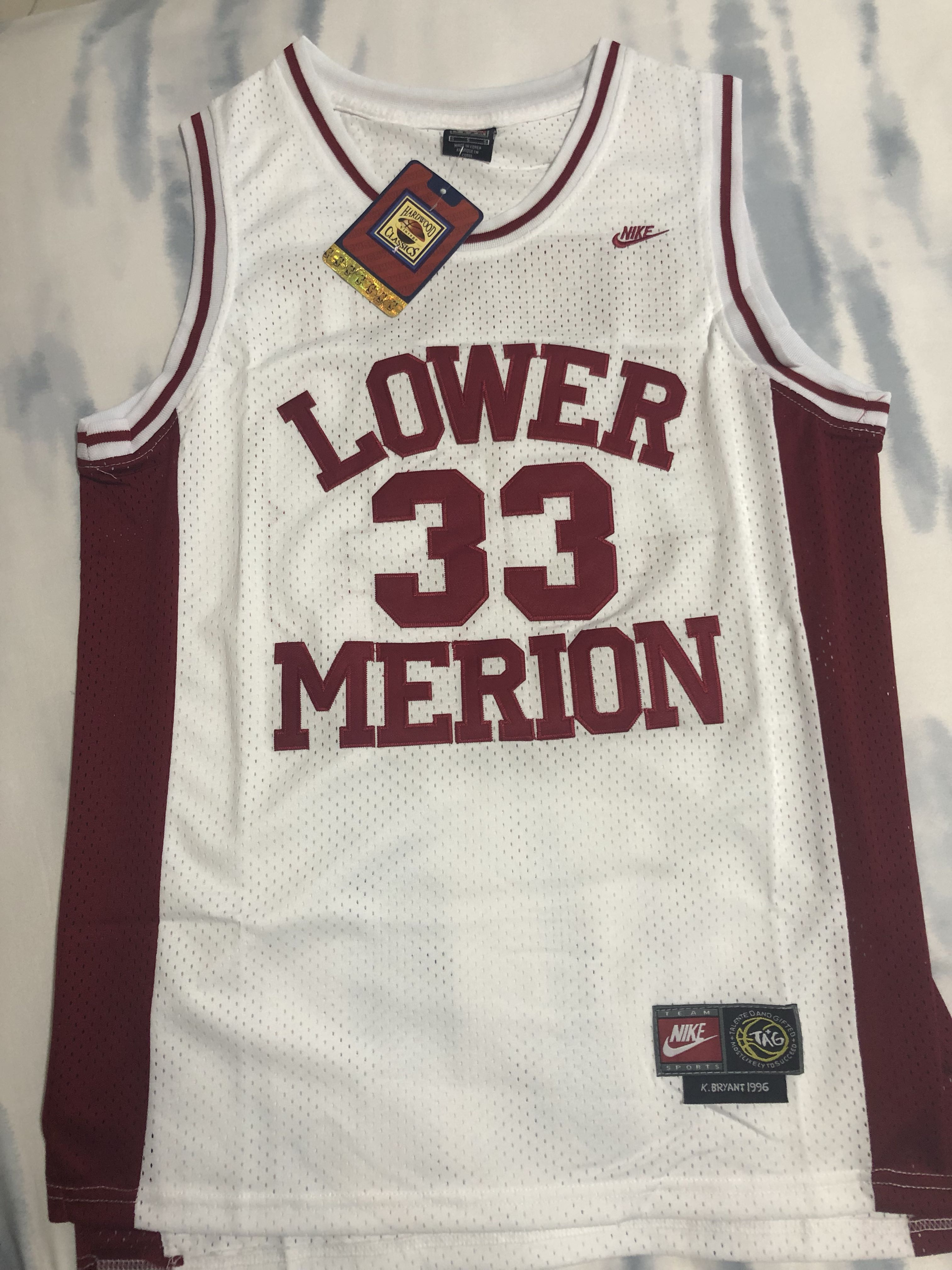 Kobe bryant high school jersey - Lower Merion (original nike ...