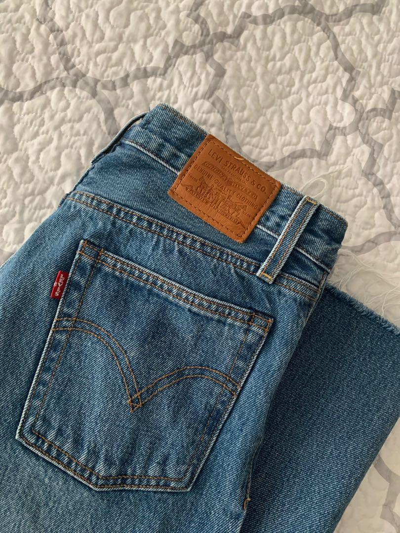 LEVIS WEDGIE DENIM