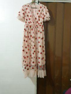 Lirika Matoshi inspired Strawberry dress