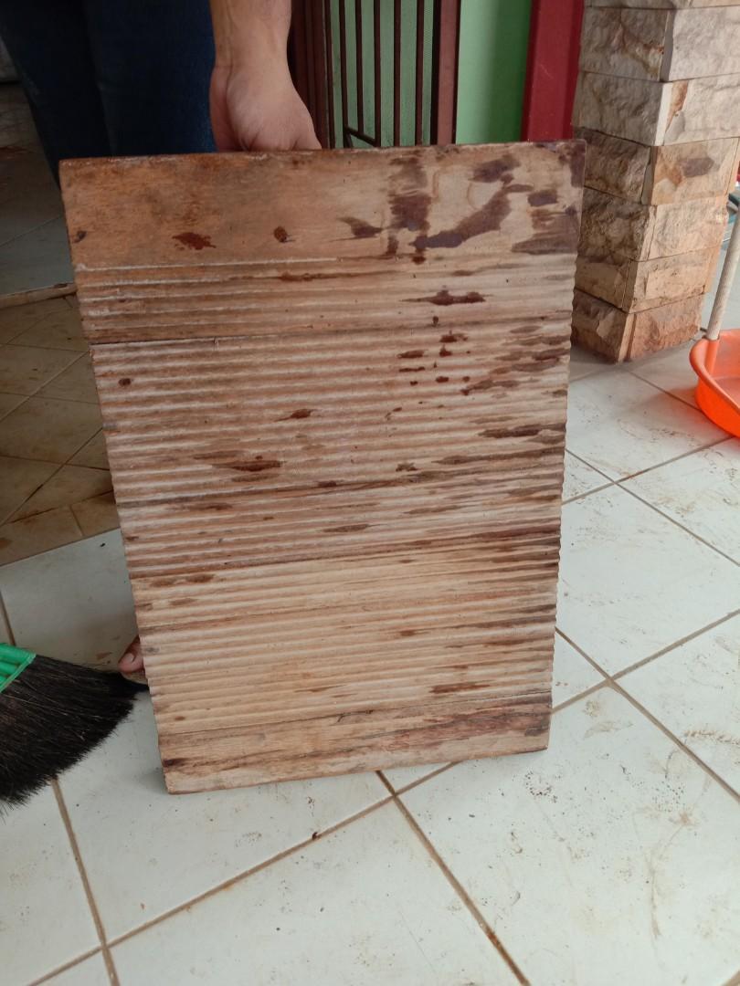 Penggilesan kayu