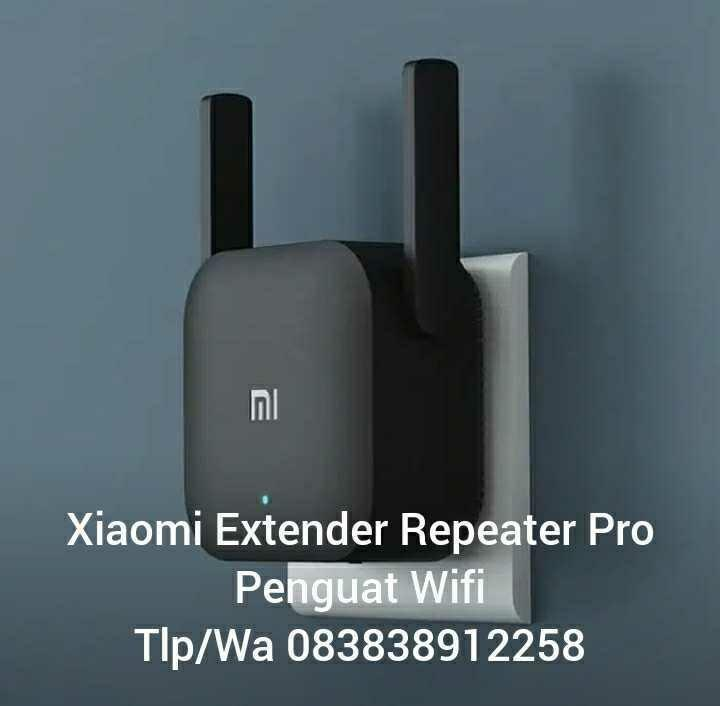 Penguat Sinyal Wifi Xiaomi Pro Wifi Amplify 2 Range Extender Repeater 300 Mbps