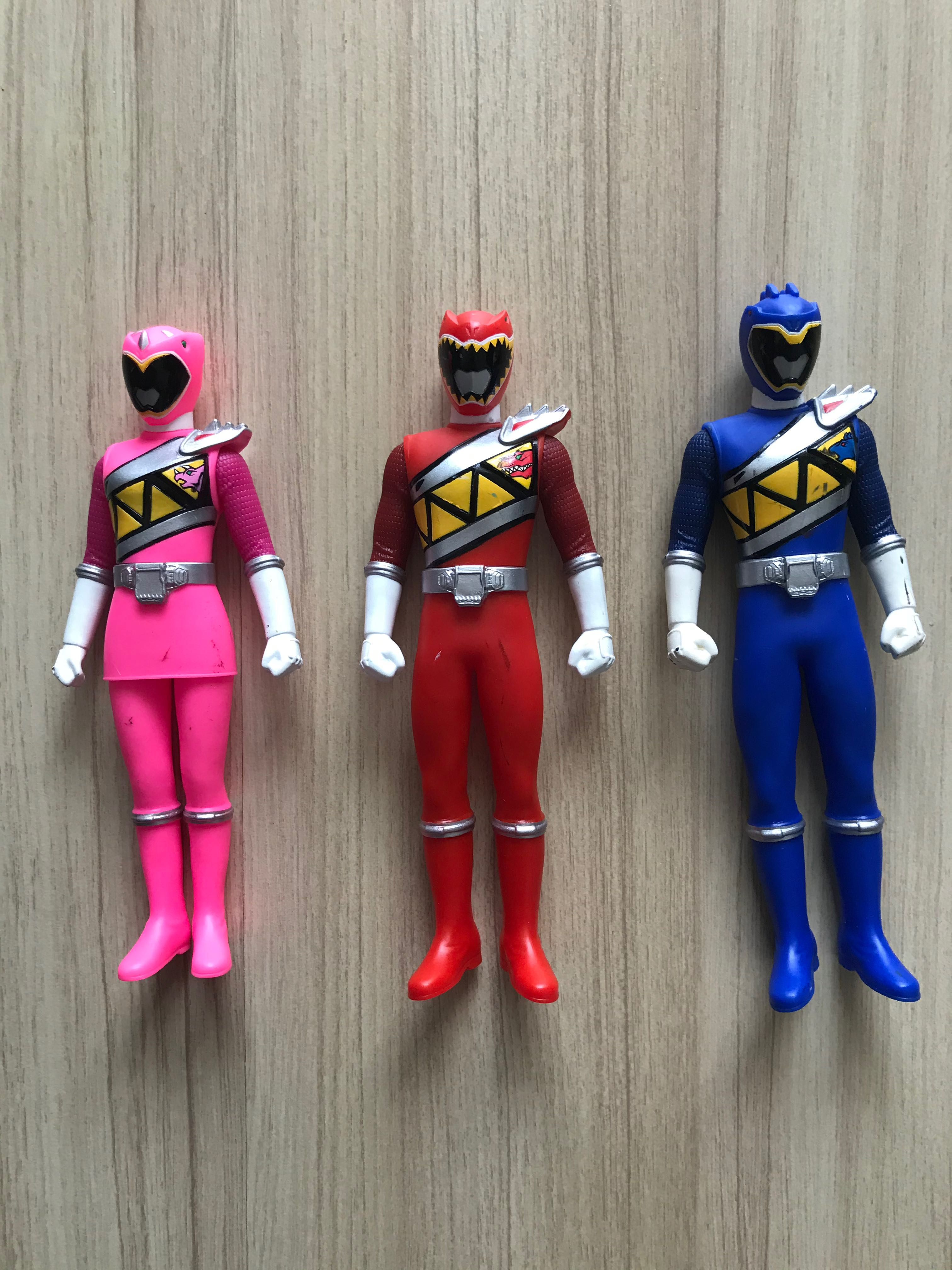 Power Rangers Dino Charge Sofubi Toys Games Action Figures Collectibles On Carousell