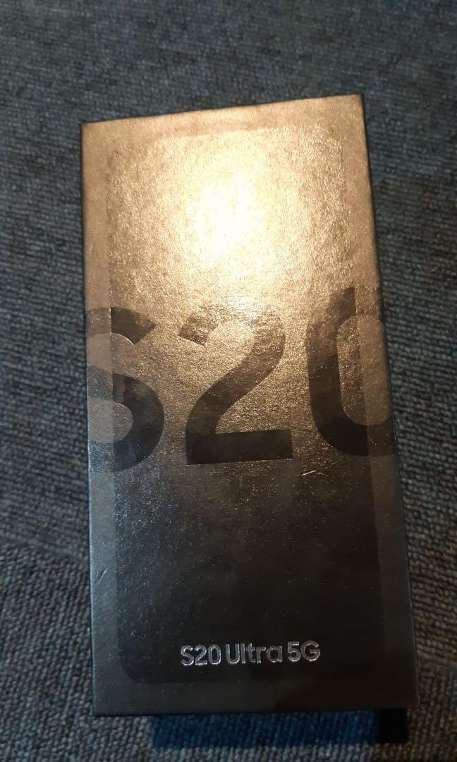 Samsung S20 Ultra 5G 12/128GB Cosmic Black