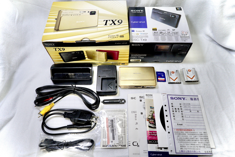 極新SONY DSC-TX9 3D觸控數位相機 索尼數位相機