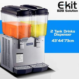 Stainless Steel Drink Dispenser 2 Tank / 3 Tank