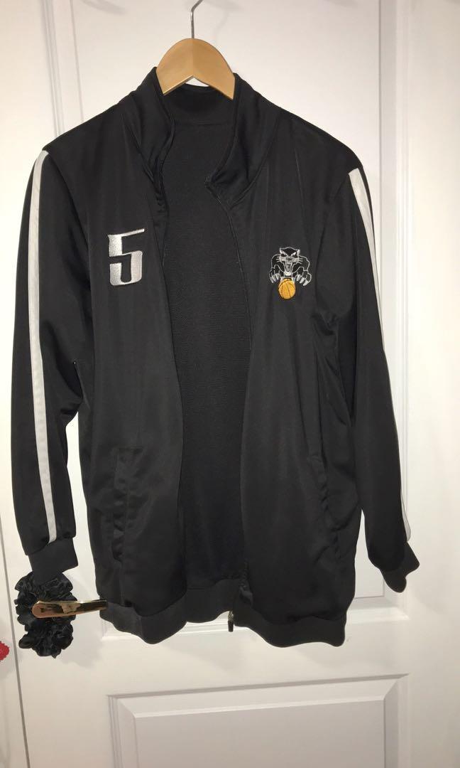 Vintage style basketball jacket