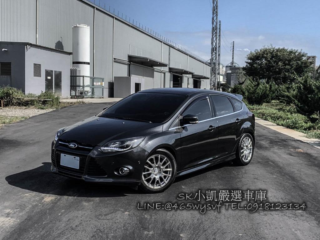 2014 Focus 灰 天窗 自動停車 ENKEI鋁圈