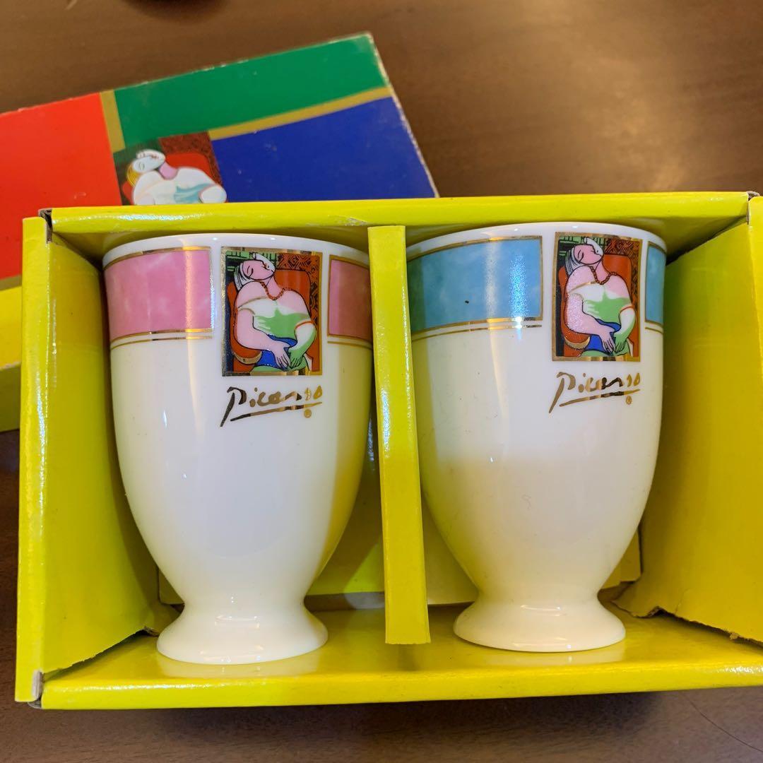 復古💫畢卡索陶瓷杯一組