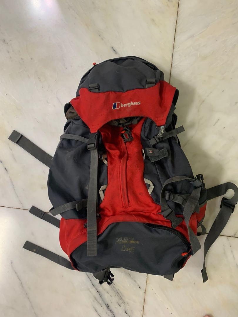 登山背包 53公升 - Berghaus backpack 45+8 Litre