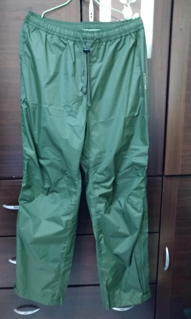 【ADISI全新】【城市綠洲 】防水透氣 雨褲(XL號)(登山必備)