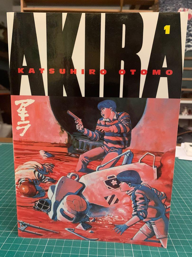 Akira By Katsuhiro Otomo English Version Books Comics Manga On Carousell