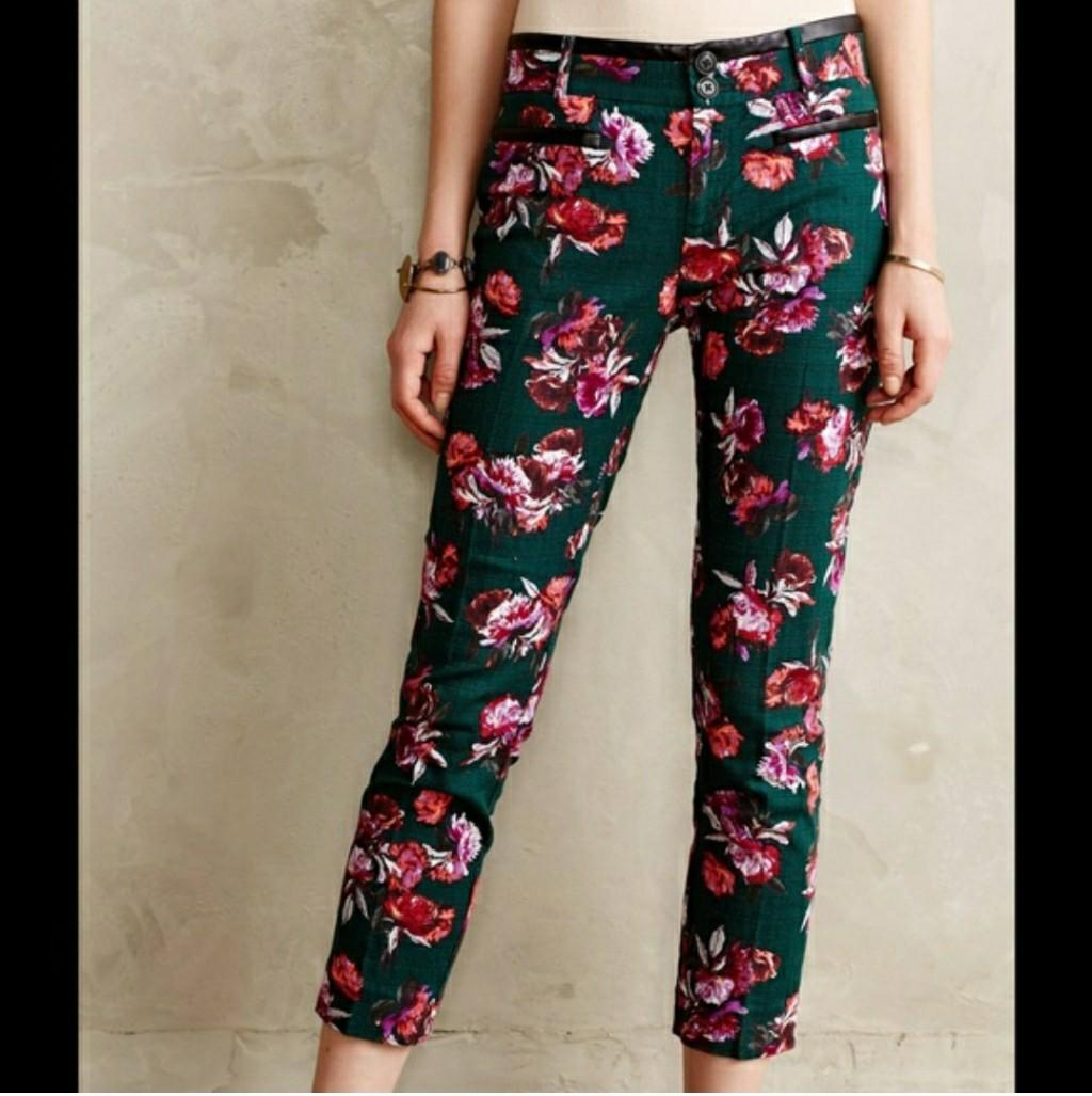 Anthropologie Cartonnier Charlie ankle trousers