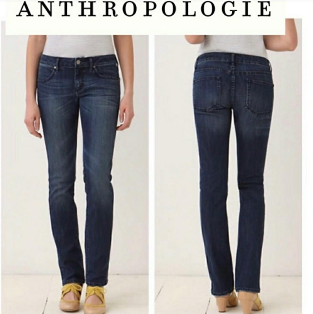 Anthropologie Pilcro and Letterpress jeans