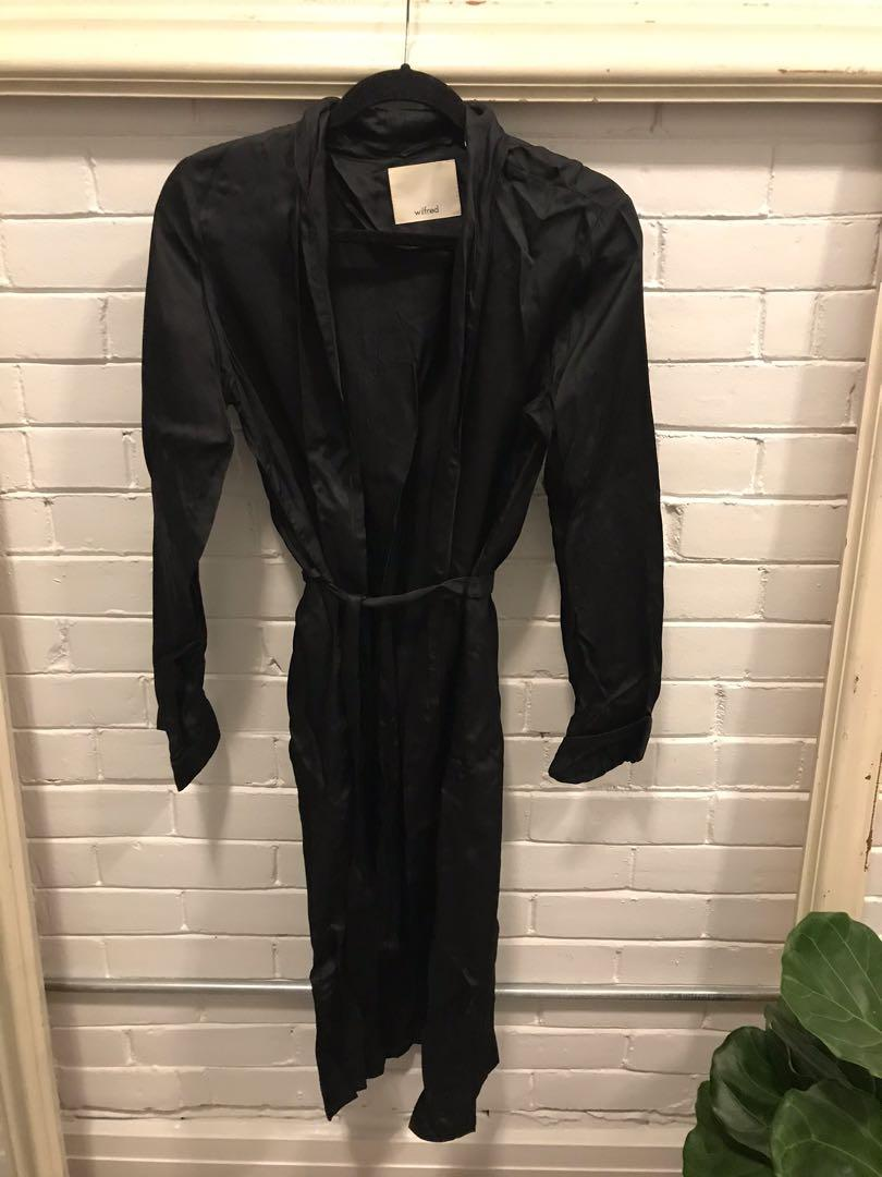 ARITZIA Wilfred robe jacket