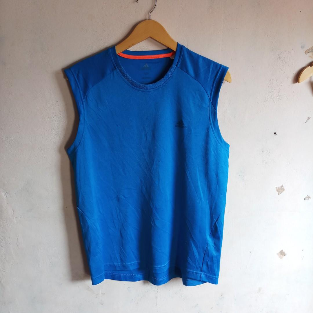 Authentic adidas sleeveless in blue