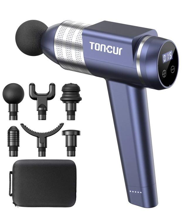 Brand new Massage Gun Toncur Professional Deep Tissue Muscle Percussion
